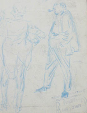 John Buscema Sketches http://flyingcolorscomics.blogspot.com/2008/08/big-john-buscema-life-in-sketches.html